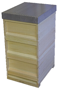 0.0200 Hohenheimer Einfachbeute Zander Set Image