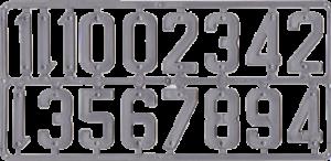 0.1121 Ziffernset Image